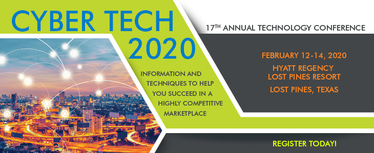 2018 Technology Conference ad