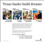 Texas banks build dreams ad campaign