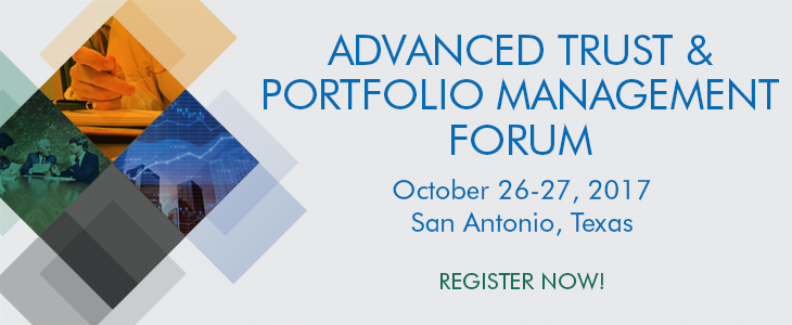 Advanced Trust & Portfolio Management Seminar