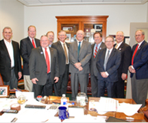 Texas bankers visit the capitol for Bankers Legislative Day