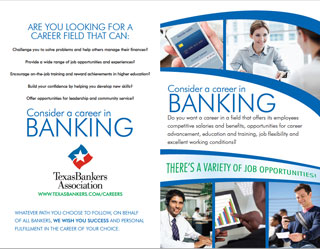 Consider a career in banking brochure
