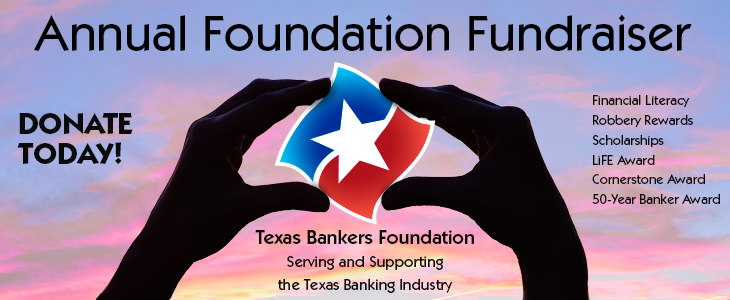 Annual Texas Bankers Foundation Fundraiser ad