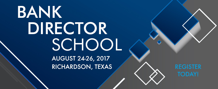 2017 Bank Director School ad