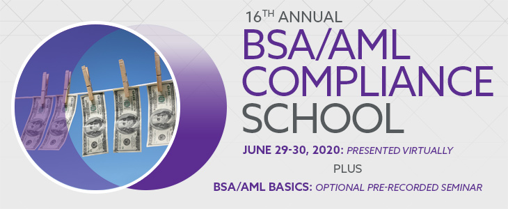 2019 BSA/AML School ad