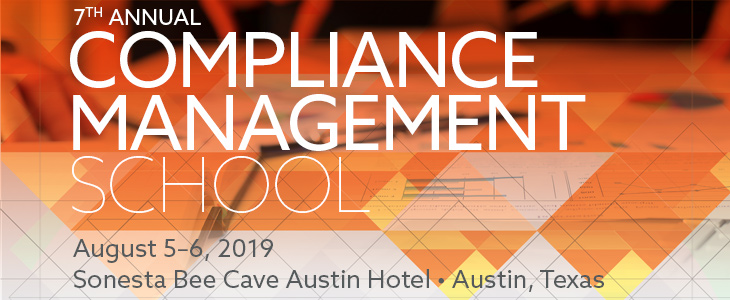 Compliance Management School ad