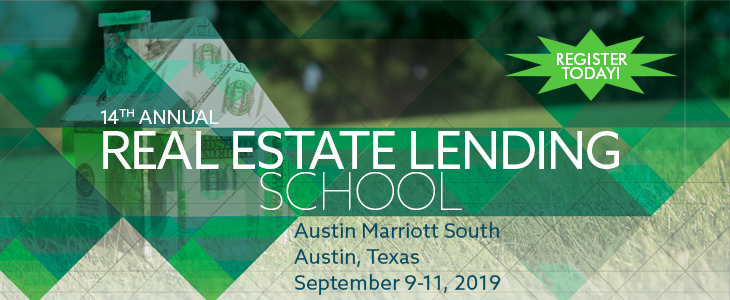 2018 Real Estate Lending School ad