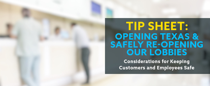 Tips for safely re-opening Texas