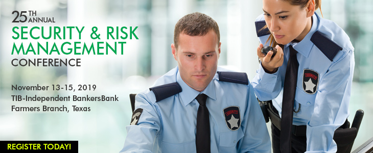 2018 Security & Risk Management Conference ad