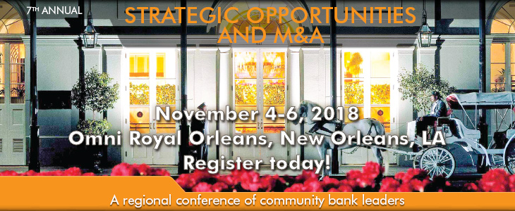 2018 Strategic Operations Conference ad