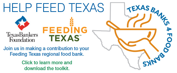 Texas Banks 4 Food Banks ad