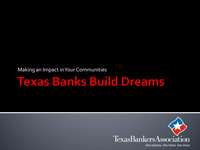Texas Banks Build Dreads PowerPoint