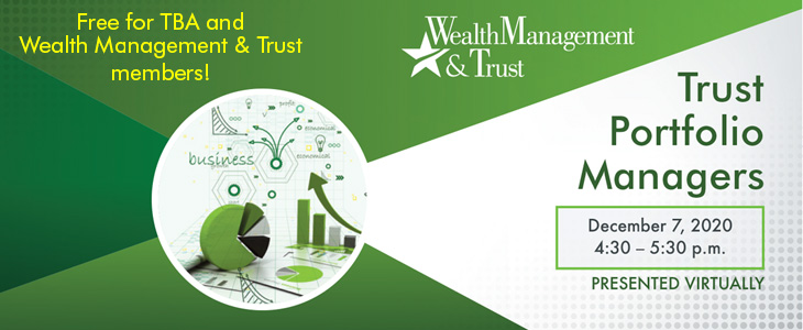 Trust Portfolio Managers Virtual Event ad