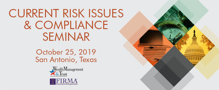 Current Risk Issues & Compliance Seminar Ad