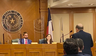 March 9, 2021: Steve Dow, a Trust Executive at Waco-based Community Bank & Trust, testified in support of HB 654 on behalf of TBA.