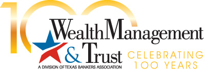 Wealth Management & Trust 100th Anniversary Logo