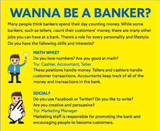 Wanna Be A Banker Flyer